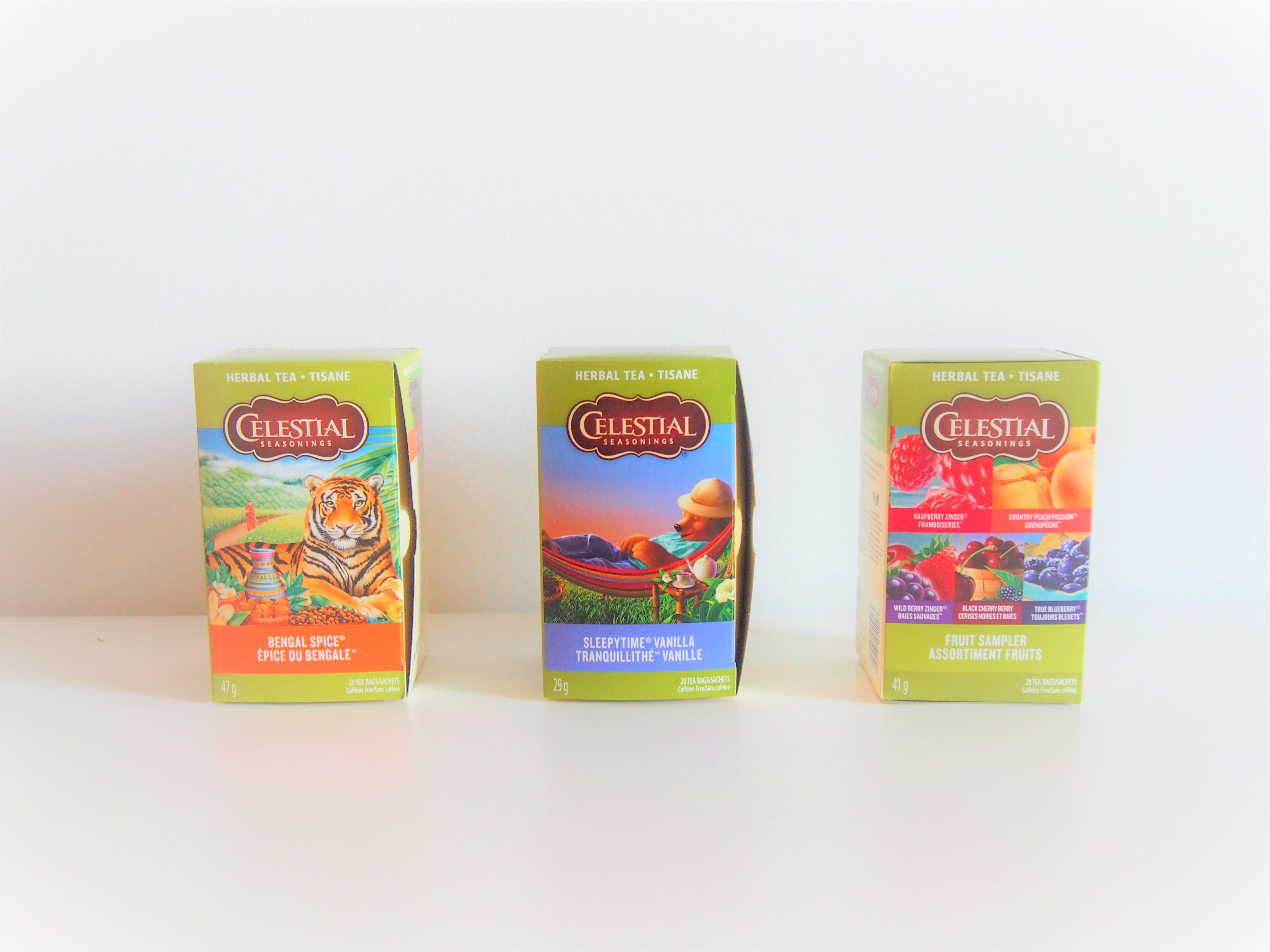 Celestial Seasonings Tea Box Art Designs